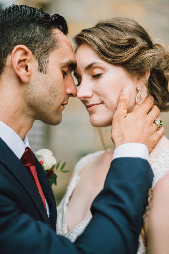Inniges Brautpaar Brautpaarshooting