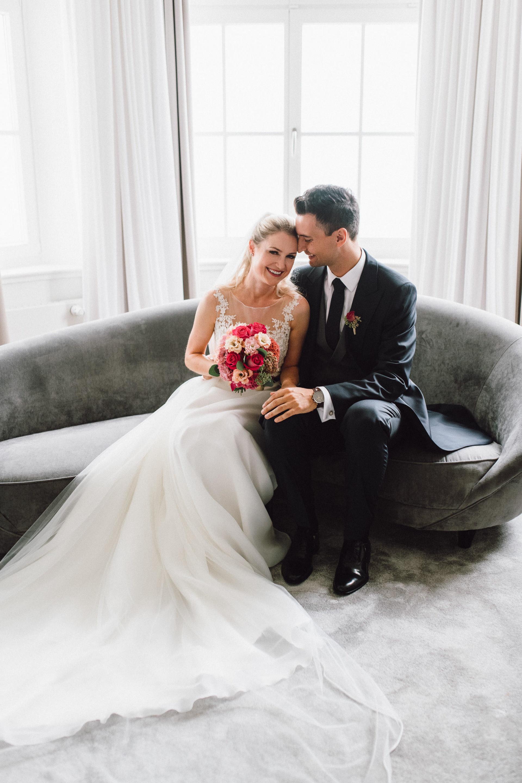 Brautpaarfotos im Hotel Das Tegernsee