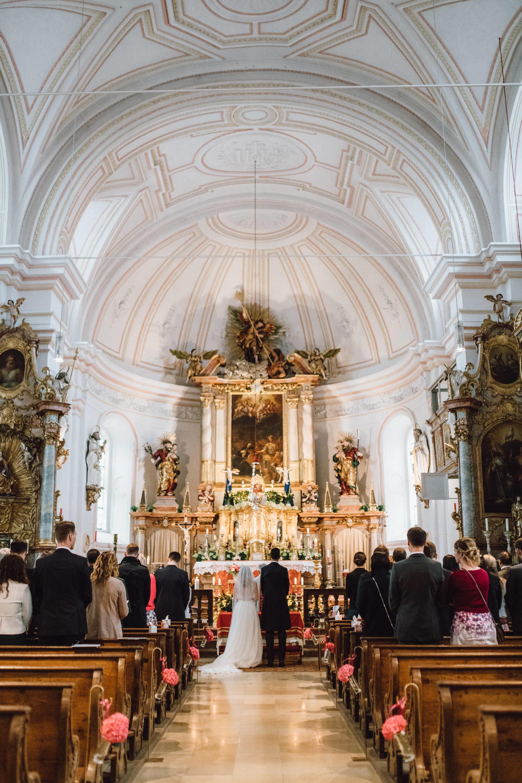 Kirchliche Trauung in Gmund