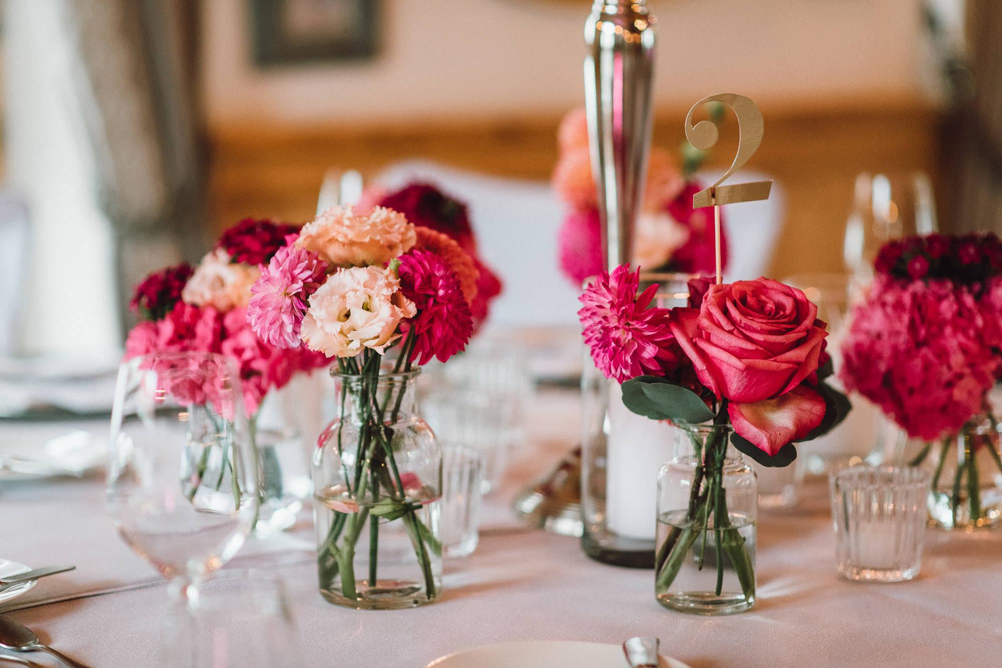 Tischdekoration von Classy Flowers